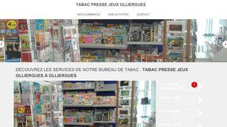 TABAC PRESSE JEUX OLLIERGUES